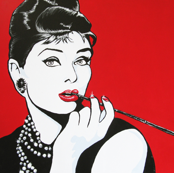 The Other Hepburn Red Kettle Art And Collectibles