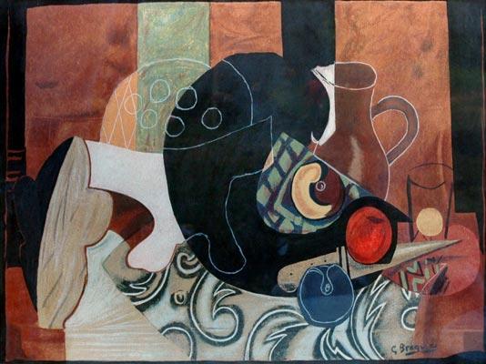 عظماء الفن التشكيلي جورج براك